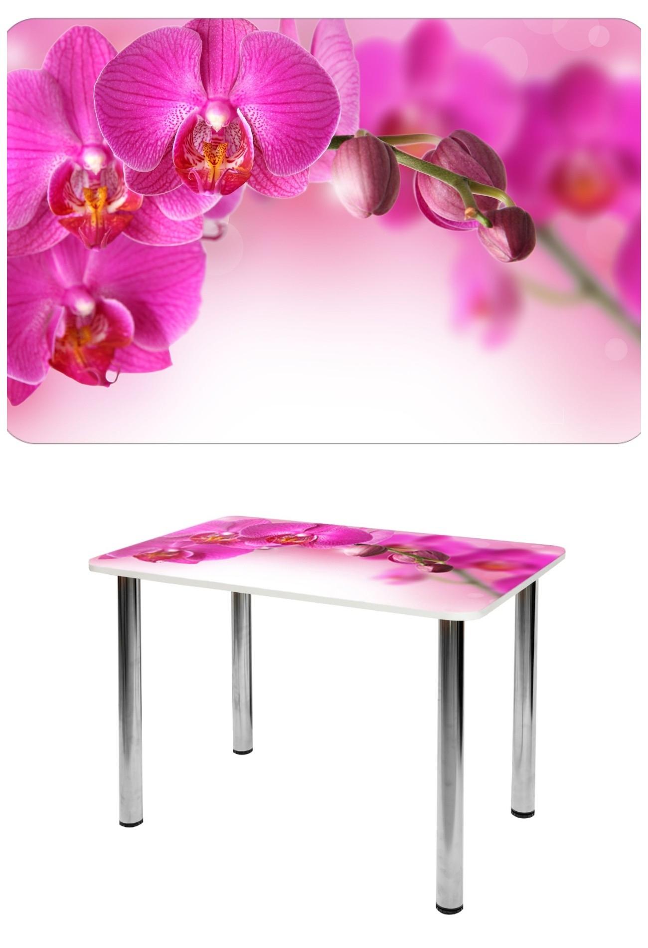 Прямоугольный стеклянный стол СО-Д-01-9