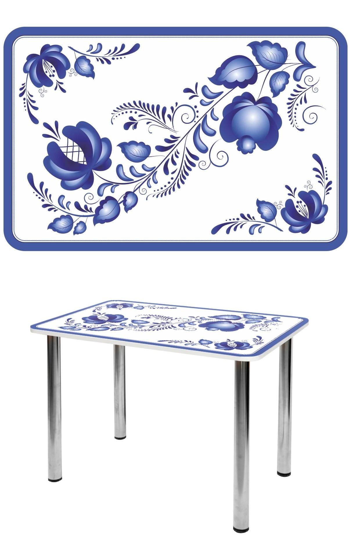 Прямоугольный стеклянный стол СО-Д-01-22