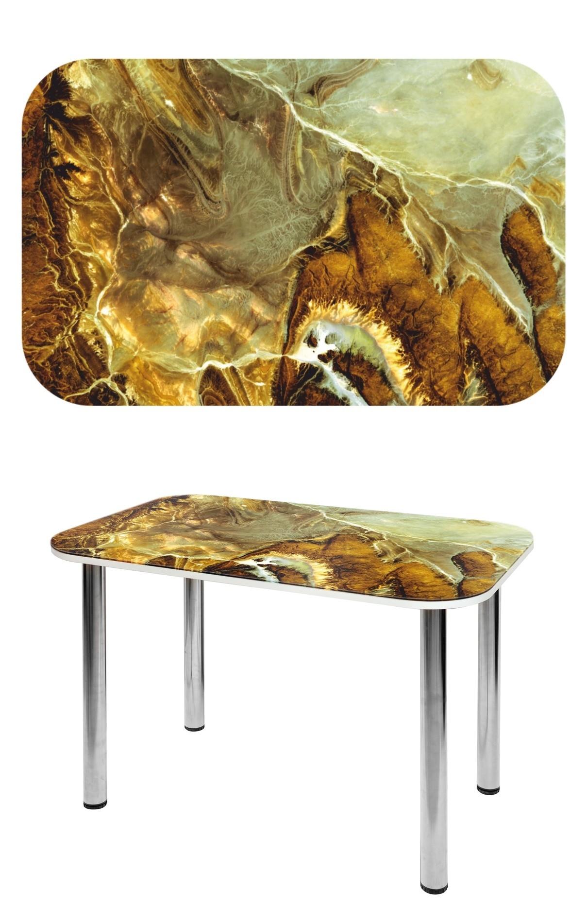 Прямоугольный стеклянный стол СО-Д-02-7