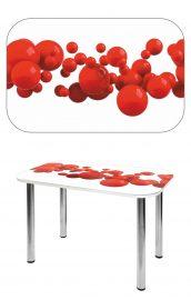 Прямоугольный стеклянный стол СО-Д-02-10