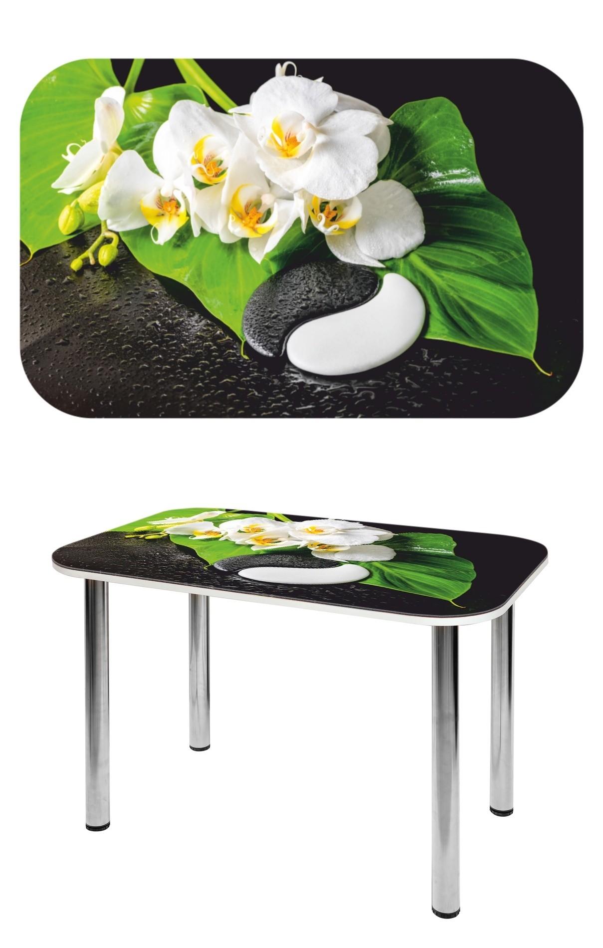 Прямоугольный стеклянный стол СО-Д-02-13