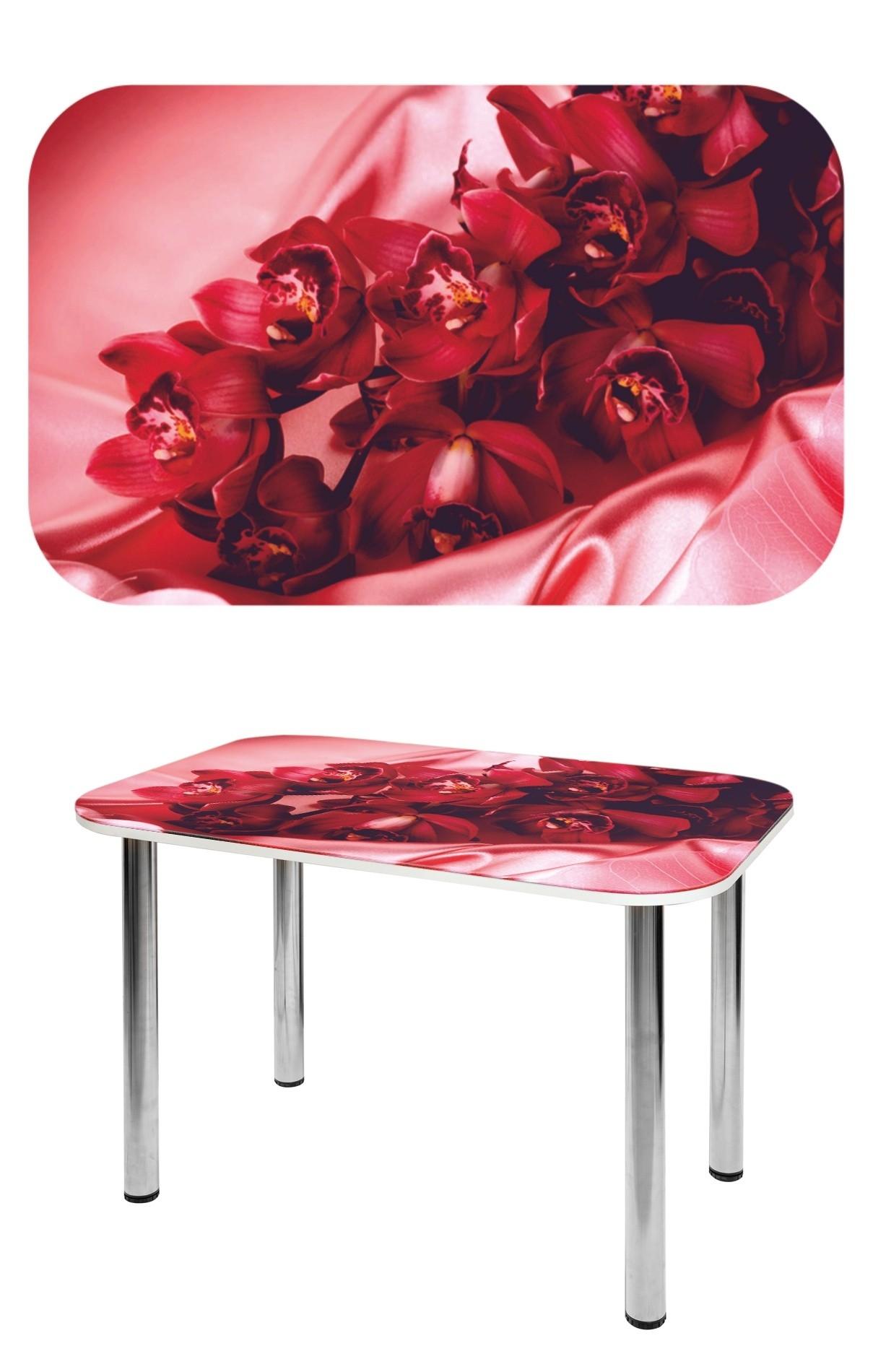 Прямоугольный стеклянный стол СО-Д-02-17