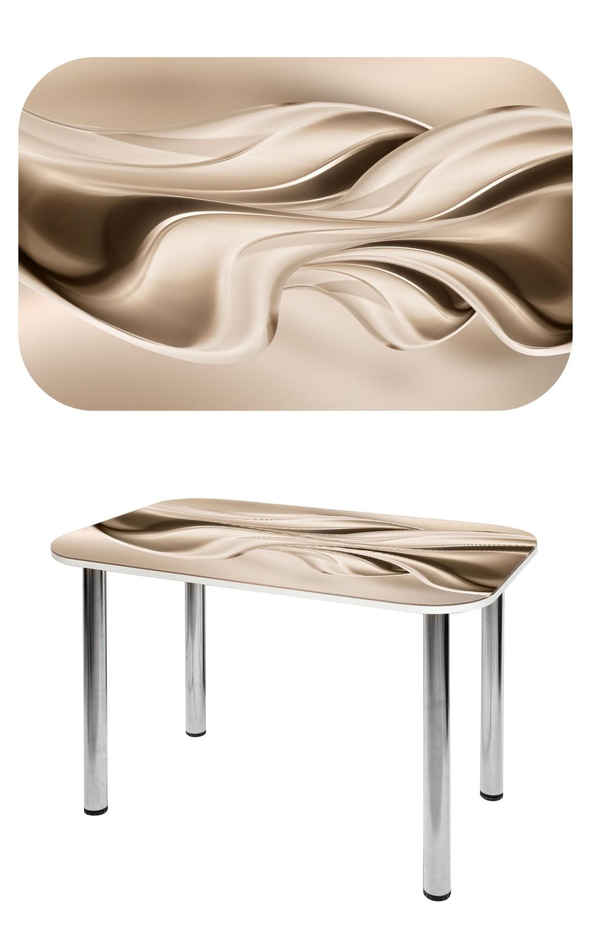 Прямоугольный стеклянный стол СО-Д-02-20