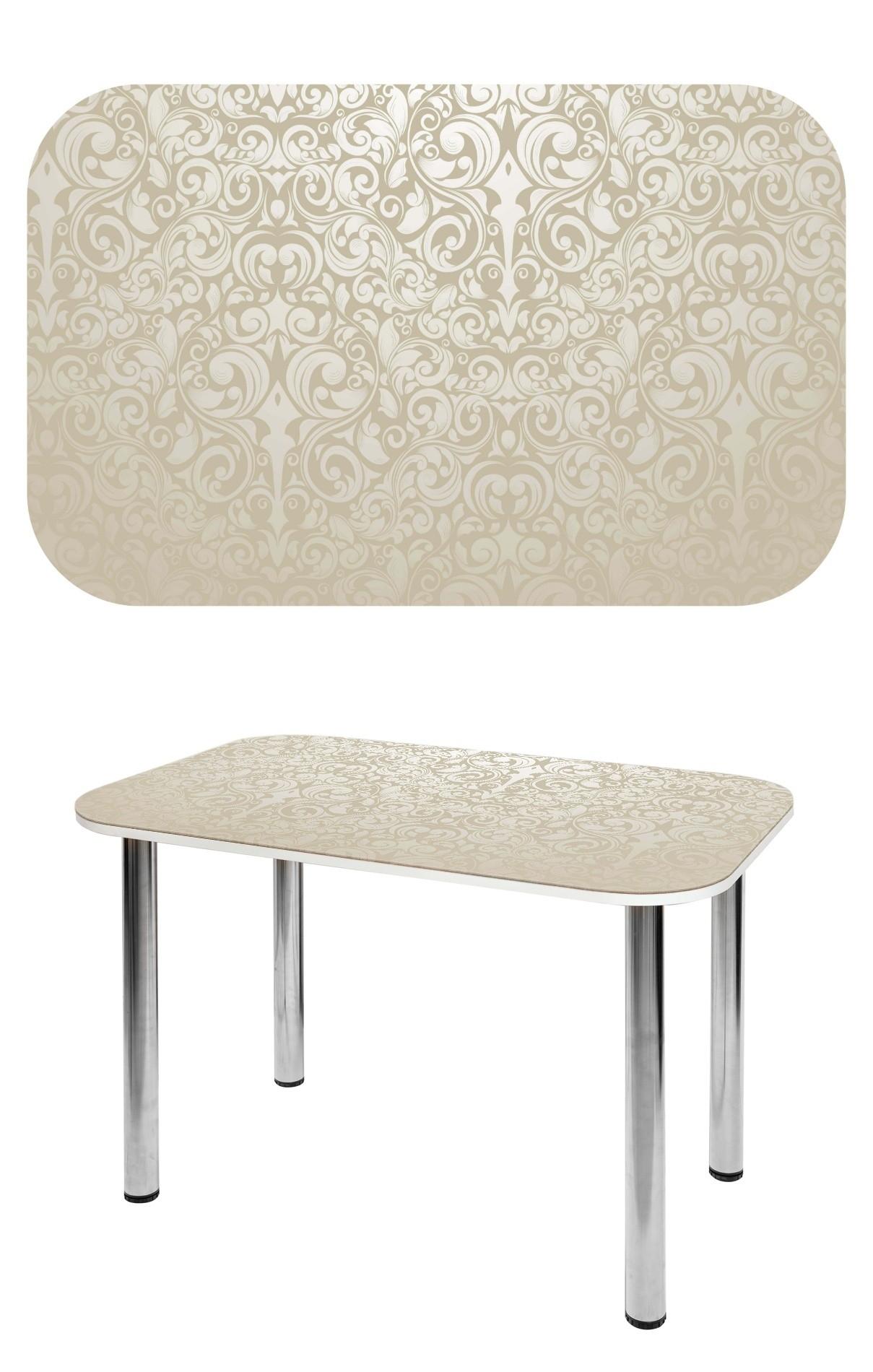 Прямоугольный стеклянный стол СО-Д-02-22