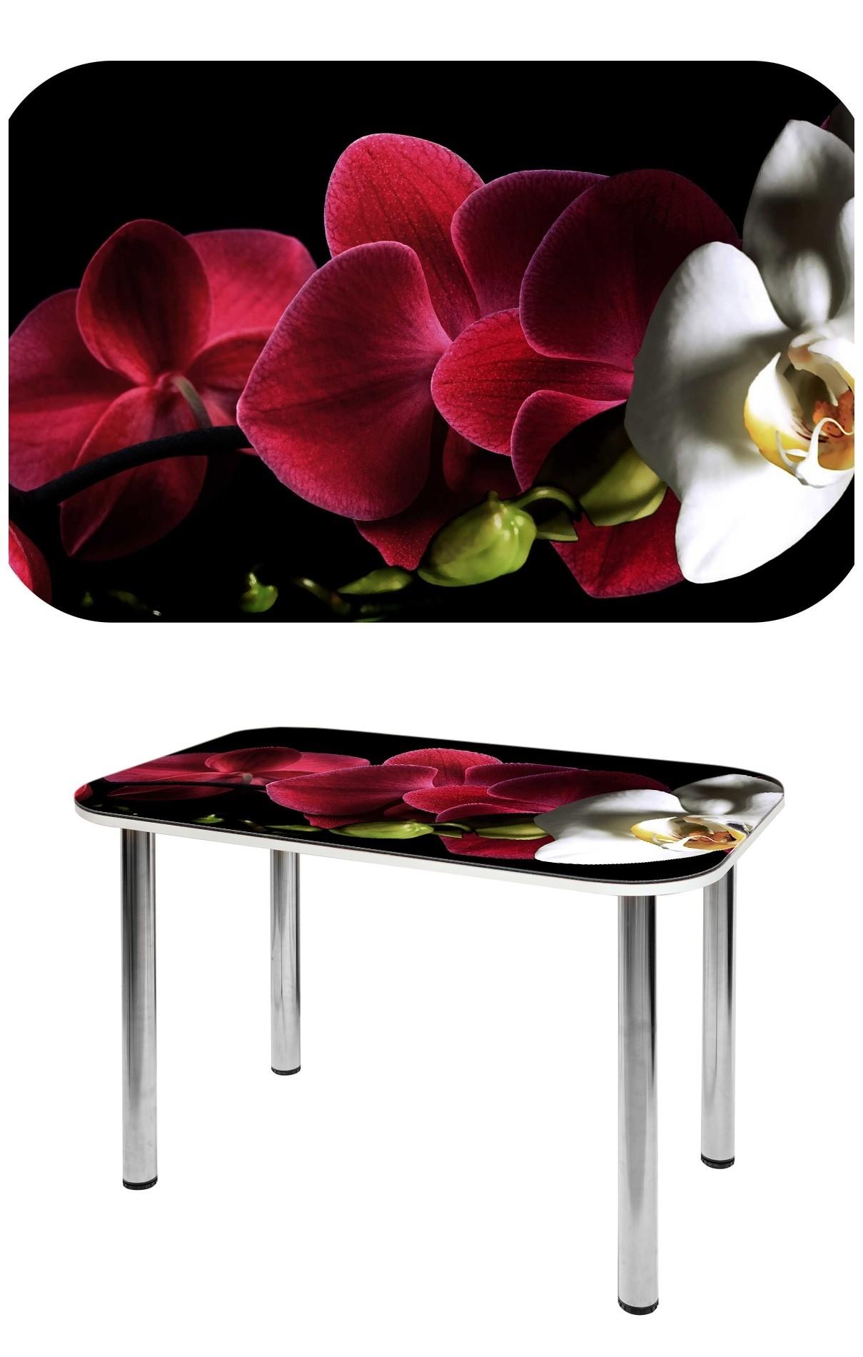 Прямоугольный стеклянный стол СО-Д-02-23