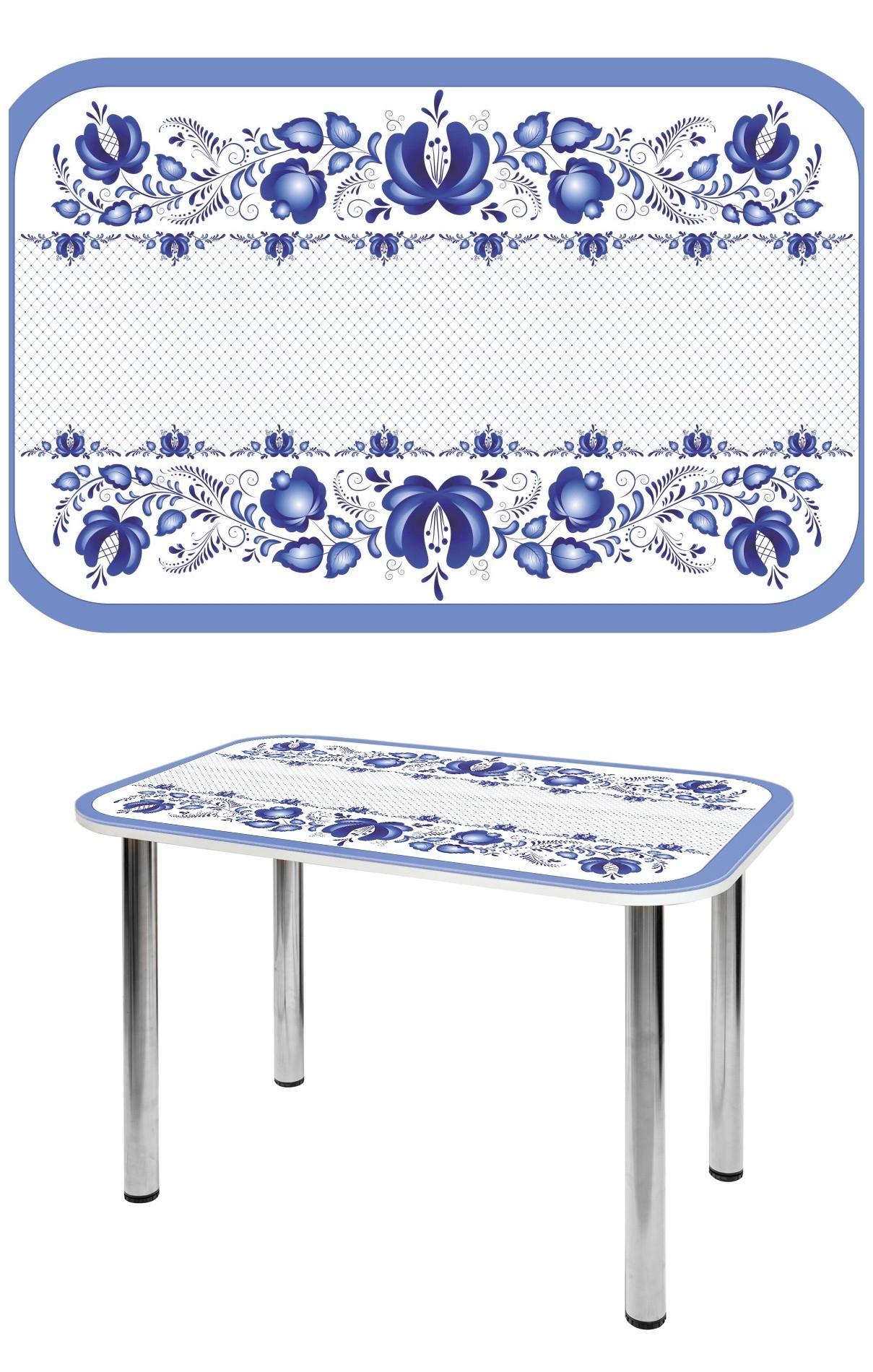 Прямоугольный стеклянный стол СО-Д-02-24