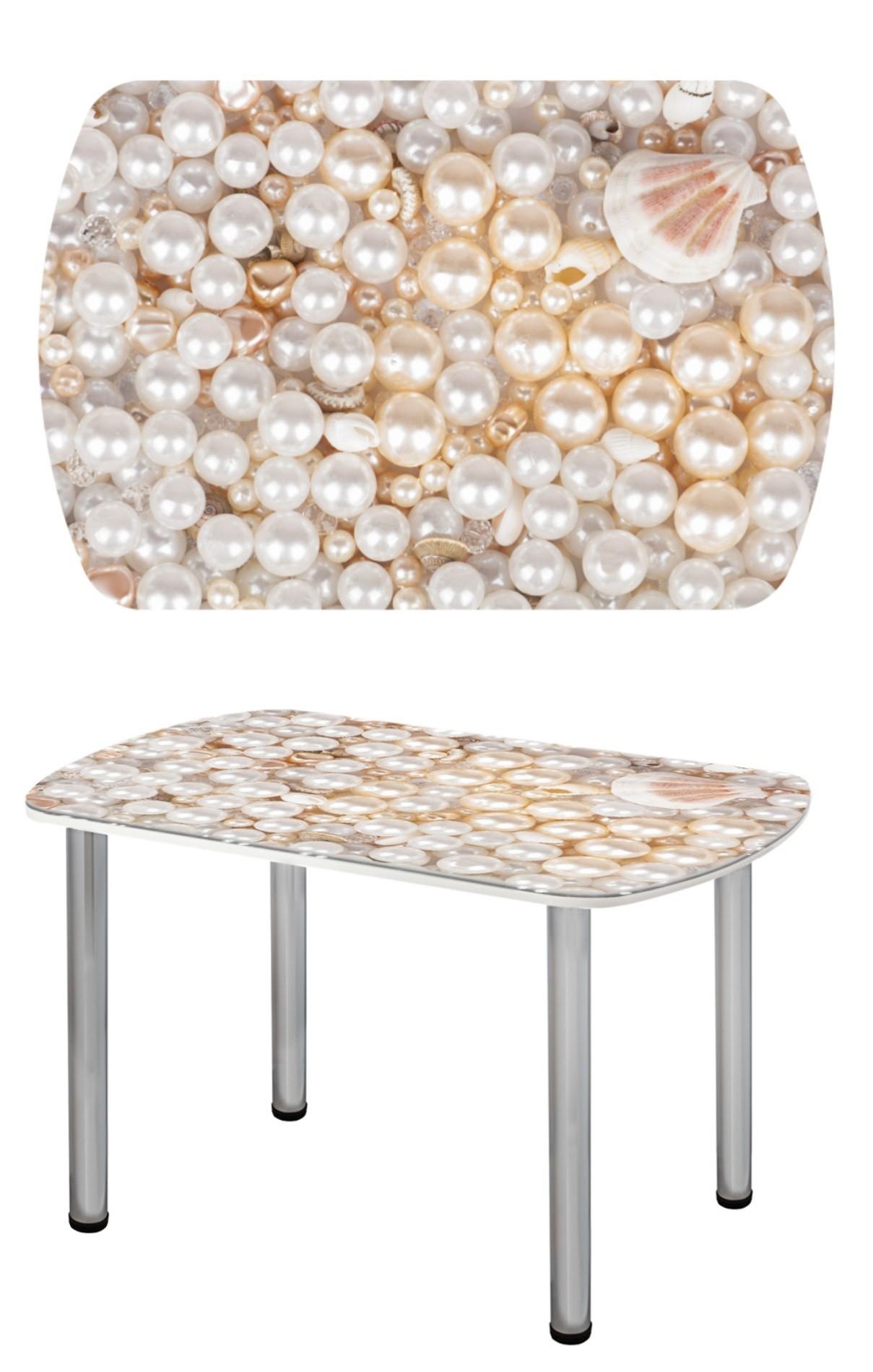 Прямоугольный стеклянный стол СО-Д-03-3