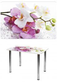 Прямоугольный стеклянный стол СО-Д-01-11