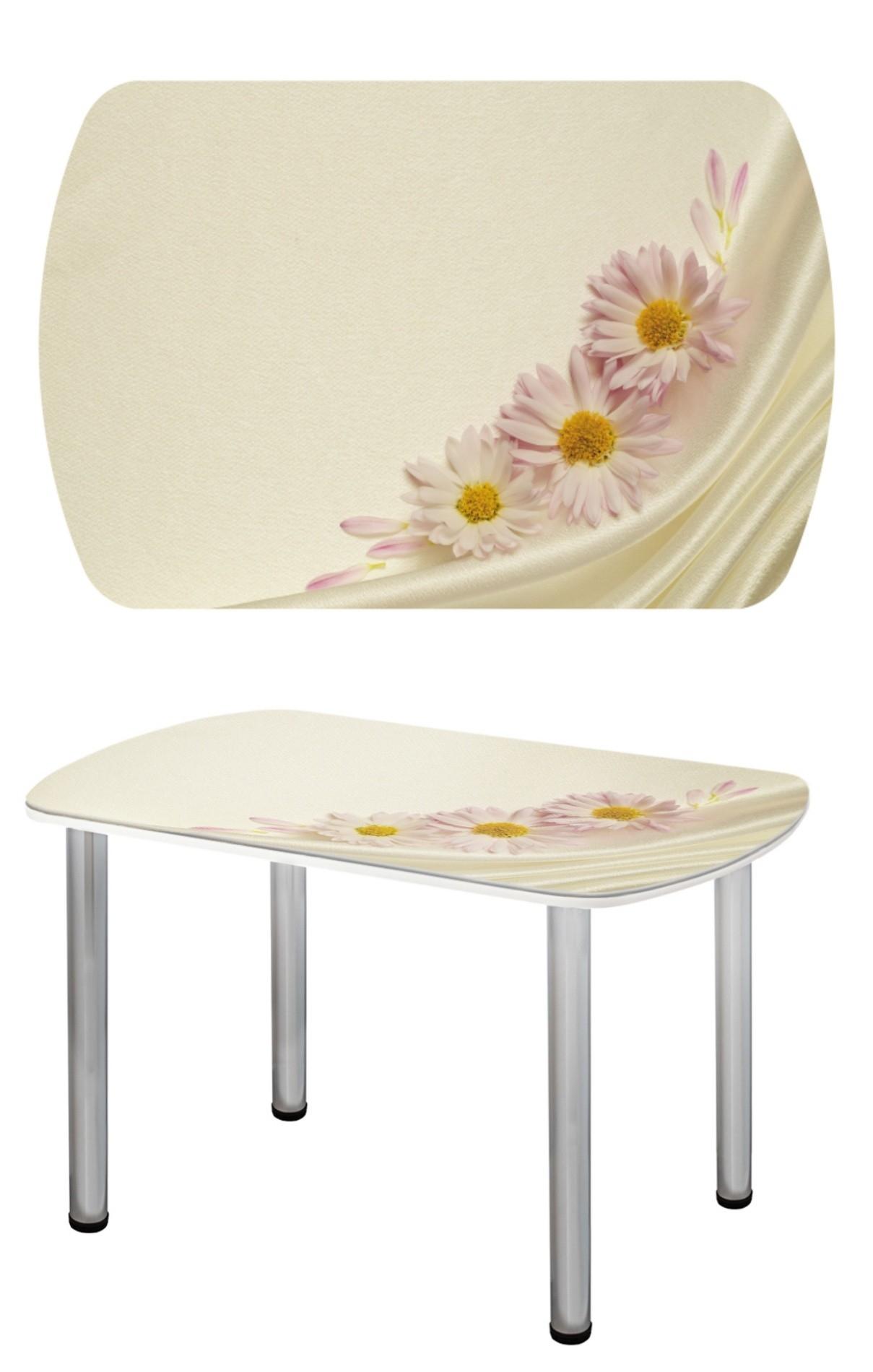 Прямоугольный стеклянный стол СО-Д-03-8