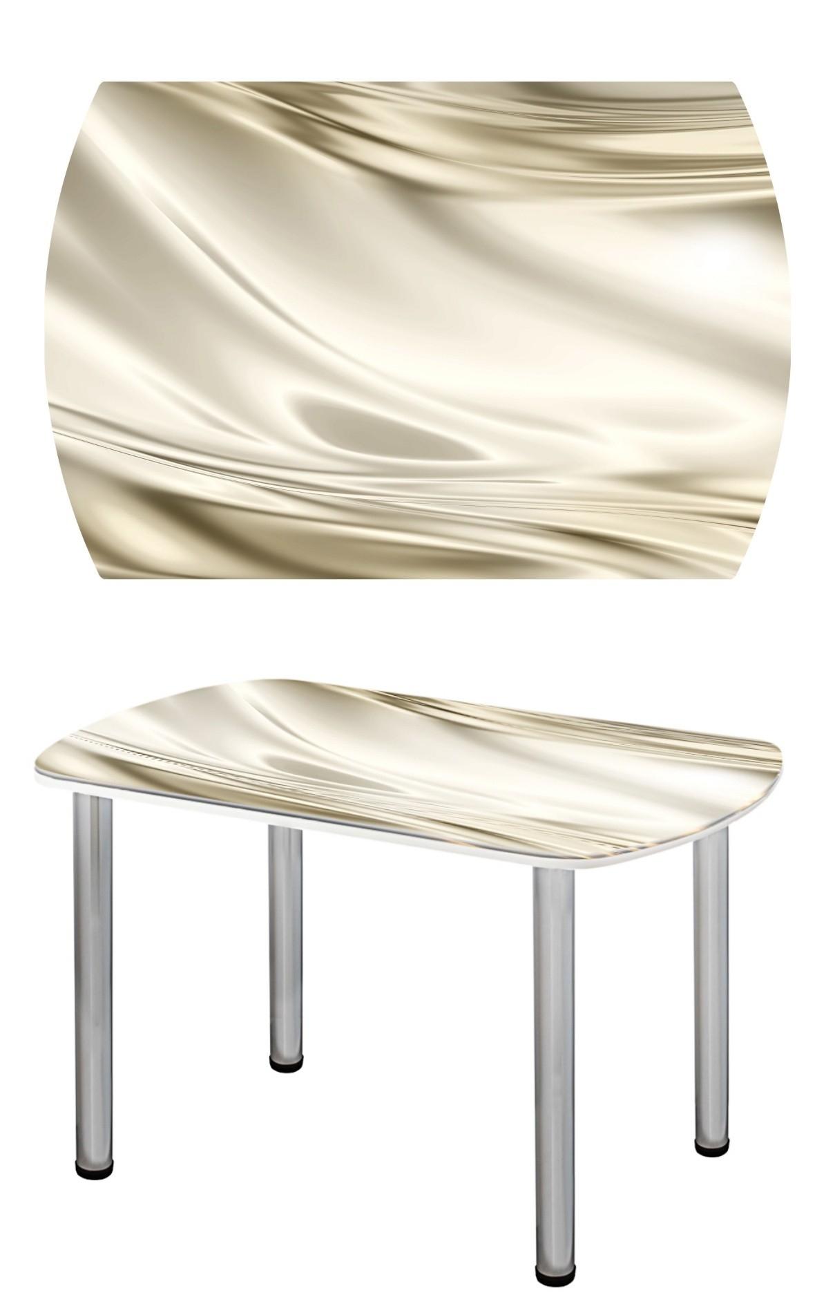 Прямоугольный стеклянный стол СО-Д-03-12