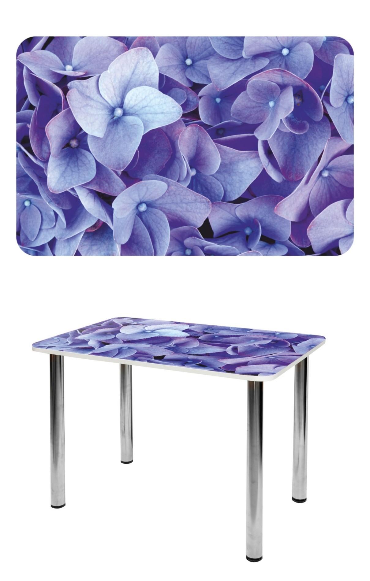 Прямоугольный стеклянный стол СО-Д-01-17