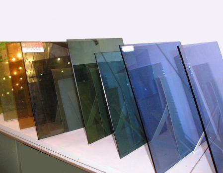Оклейка стекла цветной плёнкой
