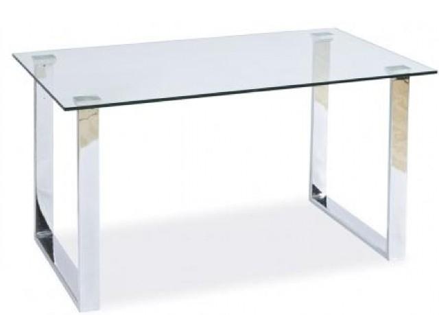 Прямоугольные стеклянные столы фото