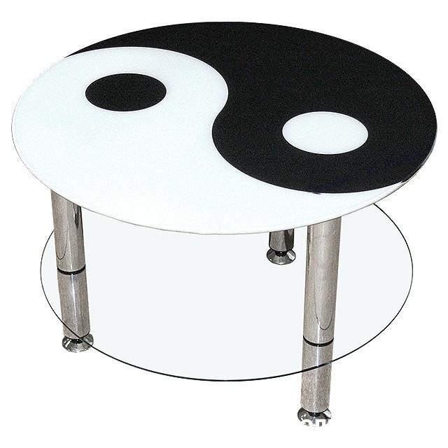 Журнальный столик Инь-Ян