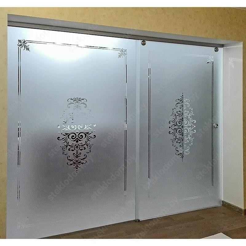 Перегородка с откатной дверью SL-13