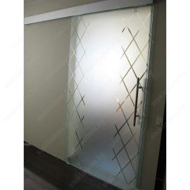 Откатная дверь на закрытом механизме SL-5