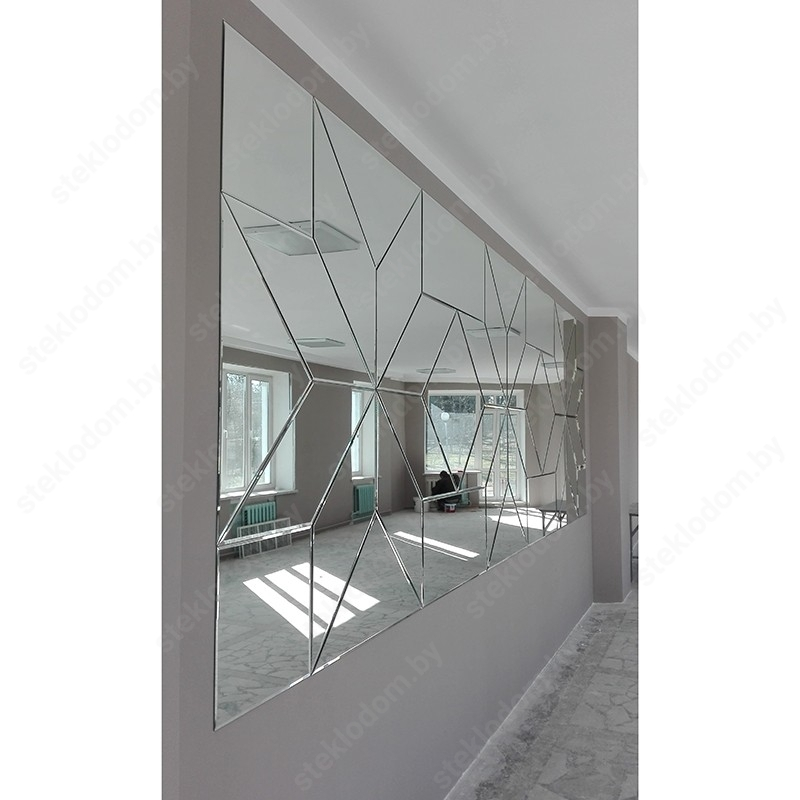 Зеркало с полировкой и гравировкой НM-18