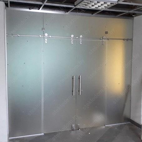 Перегородка с откатными дверями SL-24