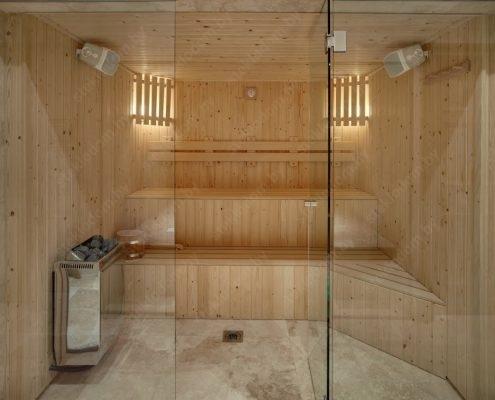 Стеклянные двери для сауны и бани: прозрачный выбор фото